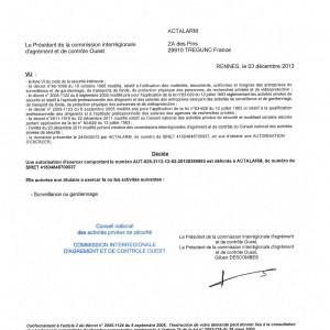 Autorisation du Conseil National