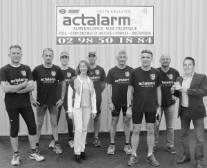 Photo Actalarm + gendarmes 2015 - N&B - 2